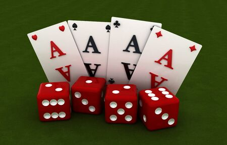 Gambling dice game four cancellation method gambling
