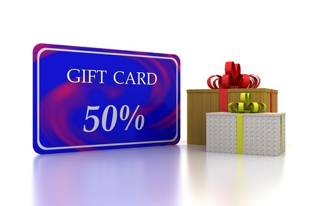 marvel: 3D gift blue card 50 percent discount and two boxs