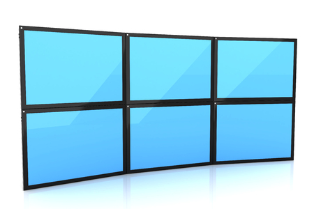 Tablet pc, computer screen isolated on white. 3d image renderer 스톡 콘텐츠