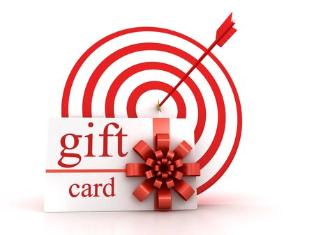 Target and gift card