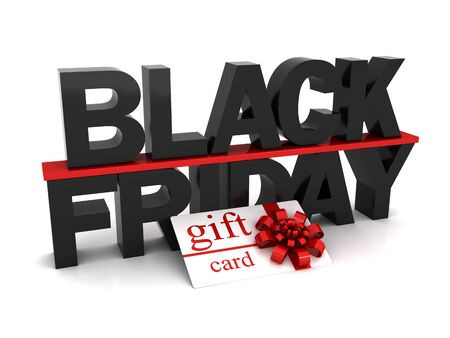 Black Friday and gift card