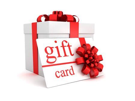 Gift card and box