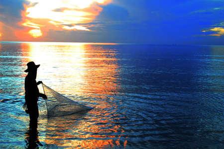 metier: fisher Stock Photo