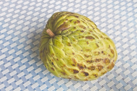 putrefied: fresh fruit from Thailand, close up custard Apples Stock Photo
