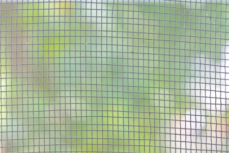 Mosquito wire screen texture on the window for background usage