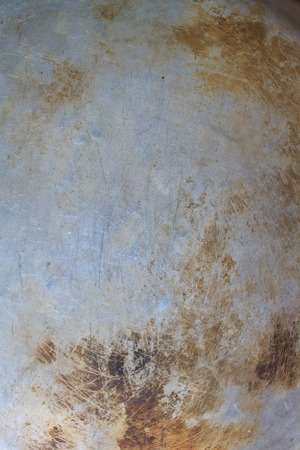 Abstract background, Texture of the old bottom of pot Stock Photo