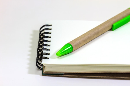 blank notebook, can be used as background photo