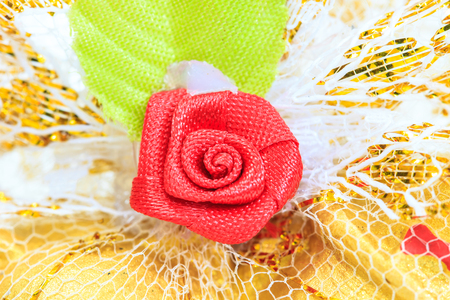 Close up Plastic roses for  Valentines Day photo