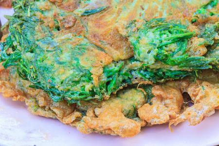 pennata: Acacia Pennata Omelette, cooking in the Thai kitchen