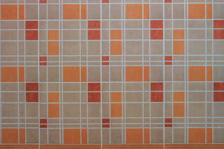 bathroom tile: close up colorful mosaic glass tile wall in bathroom texture Stock Photo