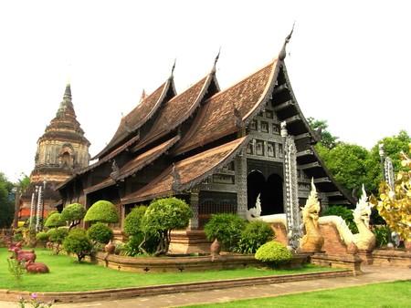 temple of Thailand( Lokmolee temple)