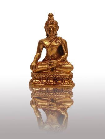 statue of a Buddha  Stock Photo