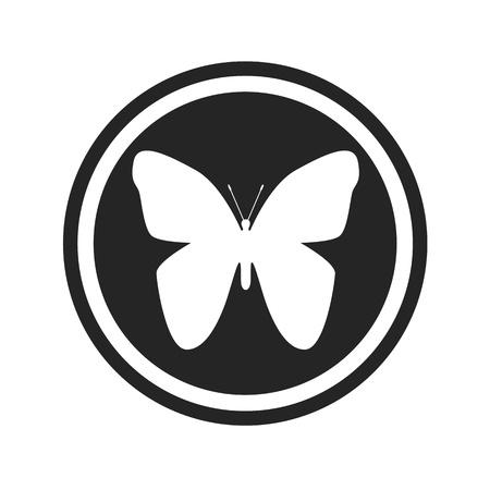 butterfly logo Banco de Imagens