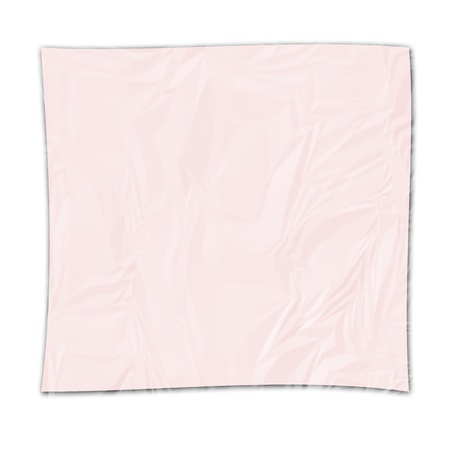 pink paper on white background Stock Vector - 12902775