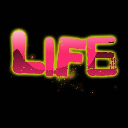 blacks: life word