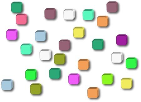 button icons on white background Stock Photo - 17779126