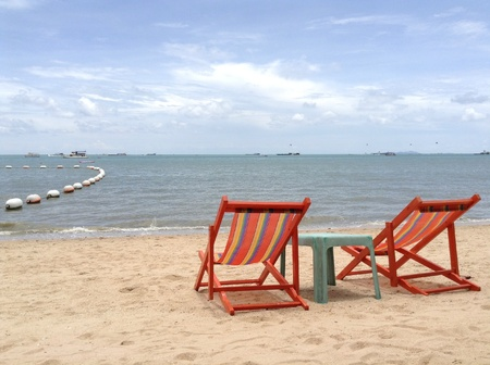 Pattaya beach Stock Photo