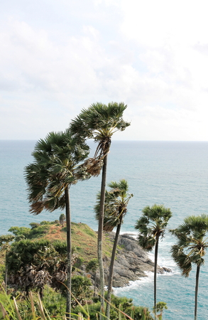 thep: Laem Phrom Thep view point of phuket,Thailand