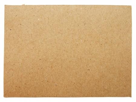 marrón: Hoja de la cartulina de papel Foto de archivo