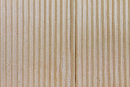 Corrugated cardboard paper texture background Stock Photo