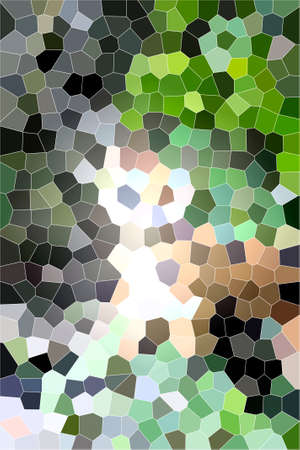 Abstract background design digital shape Stock Photo
