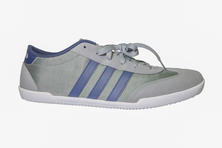 adidas: Chiang Mai, Thailand - March 13, 2015 :Adidas Neo Label Shoes ,adidas shoes,  for  running, football, training and much more ,isolated on white background