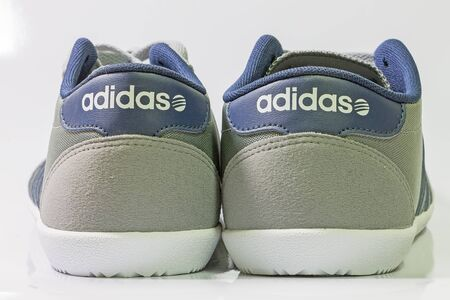 adidas: Chiang Mai, Thailand - March 13, 2015 :Adidas Neo Label Shoes ,adidas shoes,  for  running, football, training and much more , on white background
