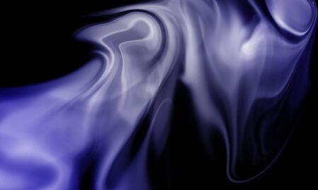 colored smoke: Colored smoke isolated on black background Stock Photo