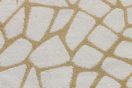 Giraffes skin design on fabric pattern background Banco de Imagens