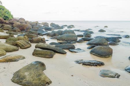 klong: Klong jao beach in Koh Kood(kood island) ,Trat Thailand Stock Photo