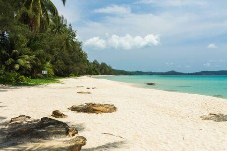 kood: Taphao beach on Koh Kood(Kood island) ,Trat Thailand Stock Photo