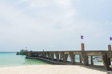 literas: Amarres playa Taphao en Koh Kood (isla de Kood), Trat Tailandia