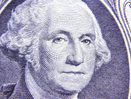 1: Closeup of Detail on the US $1 dollar