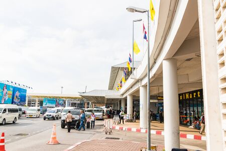 tourism industry: PHUKET, THAILAND - DECEMBER 16 : Phuket International Airport. The airport plays a major role in Thailands tourism industry, At Phuket Island south of Thailand on DECEMBER 16 ,2015