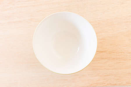 empty bowl: Empty Bowl on rustic wooden background