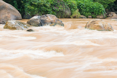 rafters: Whitewater Rafting route in Mae Taeng district at Chiang Mai , Thailand.