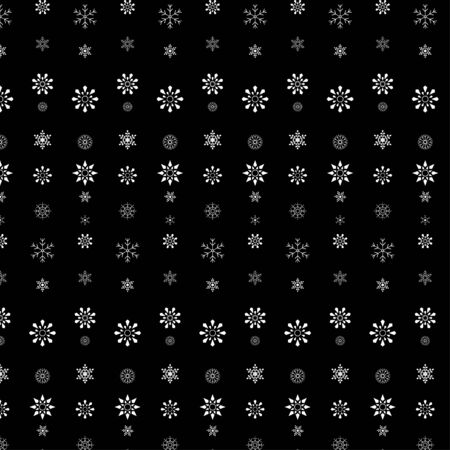 Snowflake pattern. Merry Christmas and Happy New Year  background ,Vector illustration