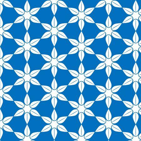 Pattern design on blue background .vector illustrations