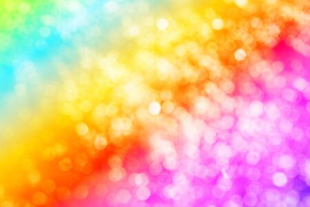 Light Rainbow background  photo