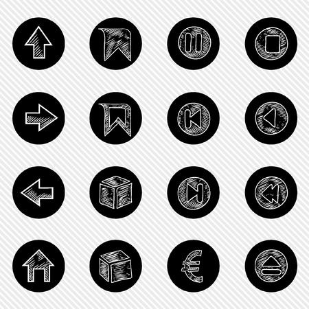 bank cart: Collection ICON Set