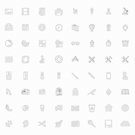 Collection Vector ICON Set Vector