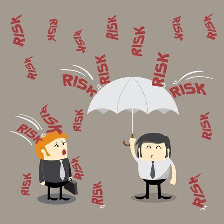 investment concept: Risk management, Investment concept, Finance Concept