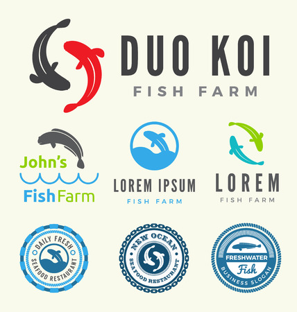 duo: Fish farm collections. Set of fish for your business.