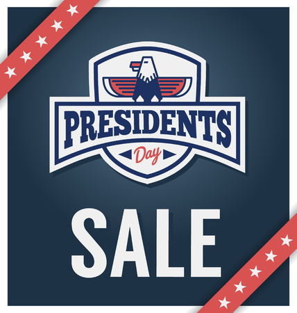 president's: Presidents day sale banner for business promotional.