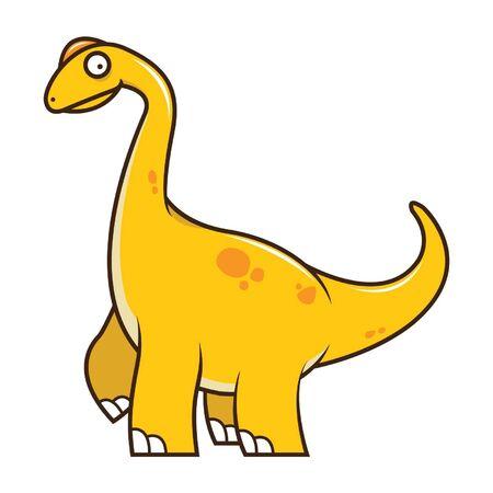 brachiosaurus: Brachiosaurus Vector Illustration