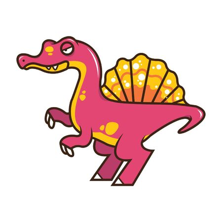 Spinosaurus Vector Illustration