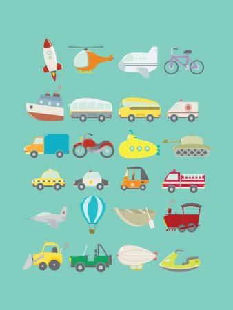 camion de bomberos: Conjunto de Transportes