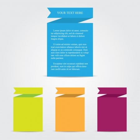 Ribbon Paper Templates