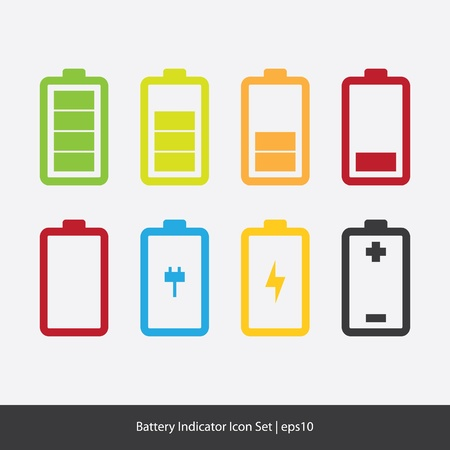 battery: Battery Indicator Icons