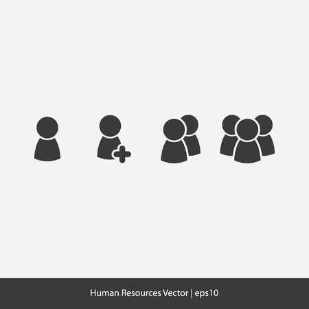 people icon: Human Resources Icons